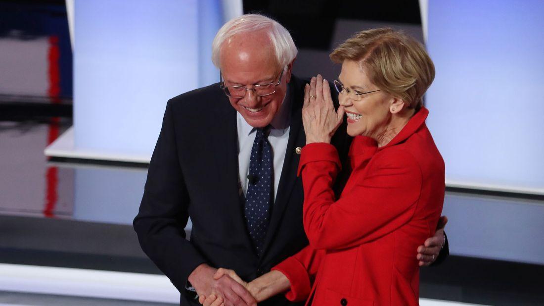 Bernie and Elizabeth july 1