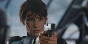 cobie with gun