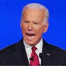 Joe yelling
