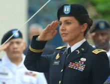 tulsi in uniform