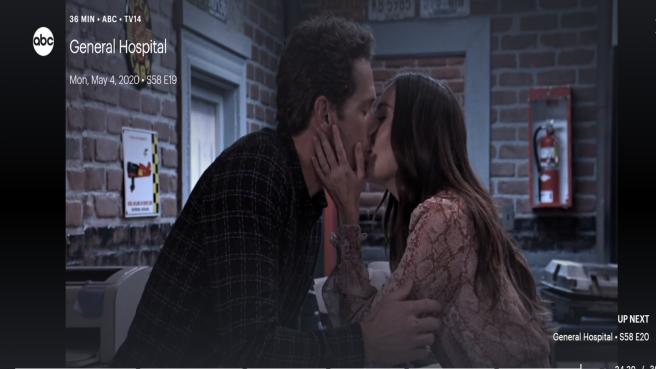 GH and brando kisses back