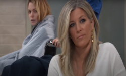 gh carly smirking at almost killing nelle